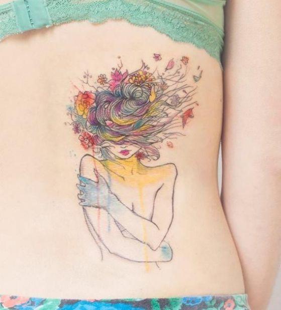 hermoso tattoo para chicas