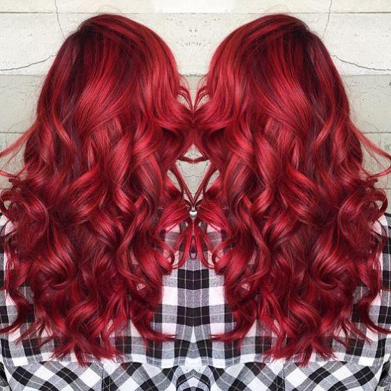 cabello red
