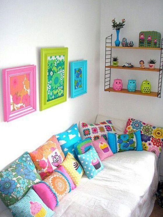 colores en cuartos de chicas jovenes