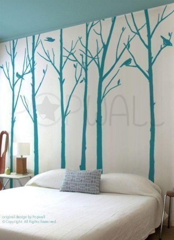6 geniales ideas para decoracion de habitaciones dise os for Calcomanias para dormitorios