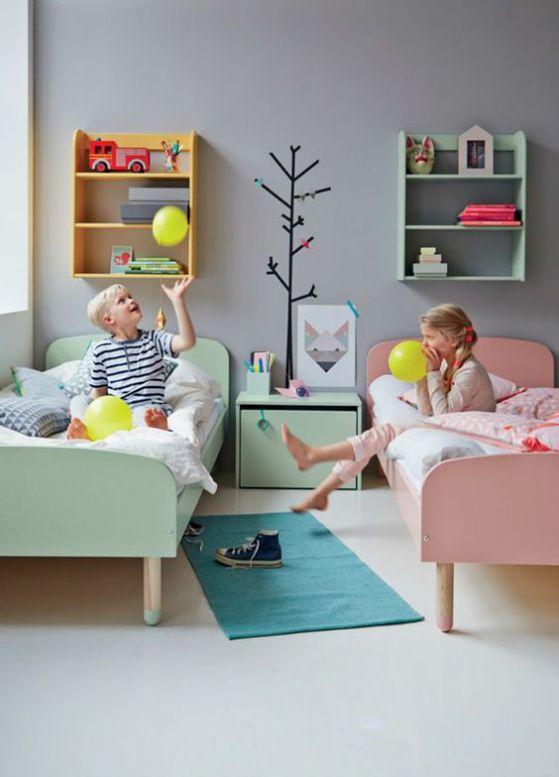 decoraciones para habitaciones para 2 niños