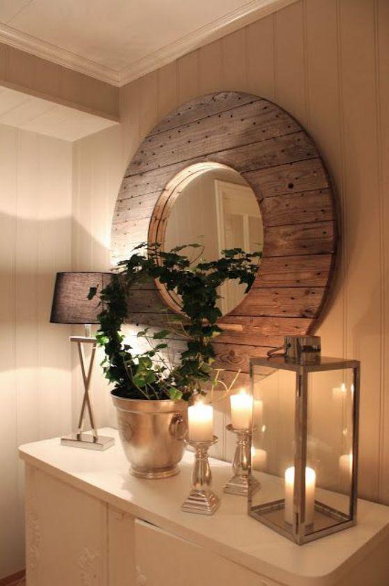 diferentes espejos bonitos decorados