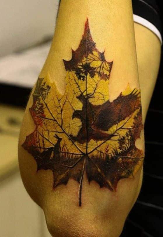 diseño tatuaj en el brazo hombres