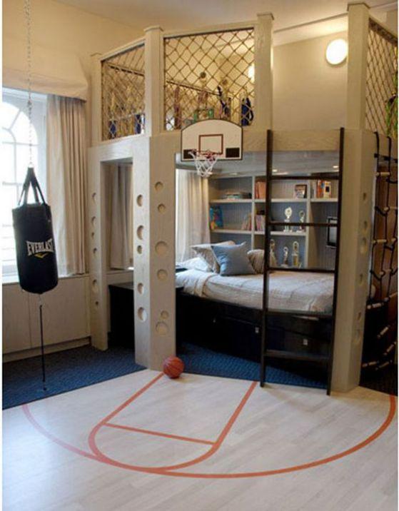 genial cuarto para chicos jovenes