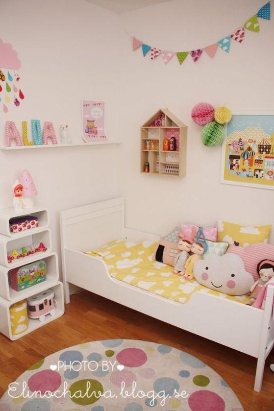 habitacion con colores para niños