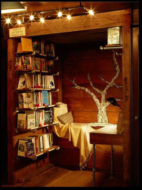 habitaciones con libros