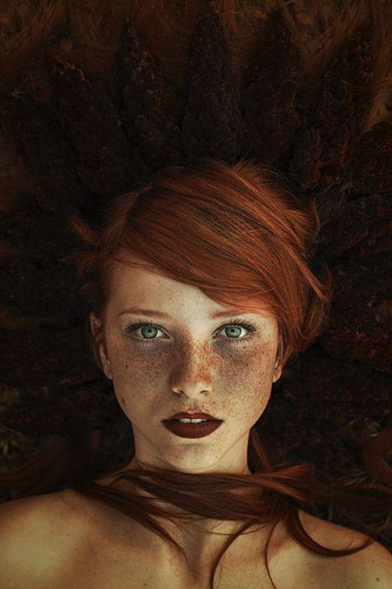 pelo color rojo