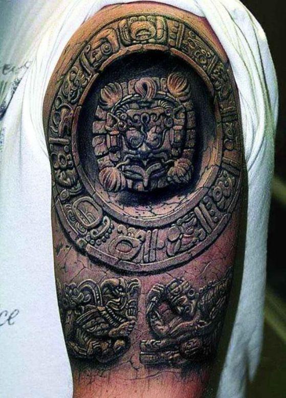 tatuaje 3d ilusion optica
