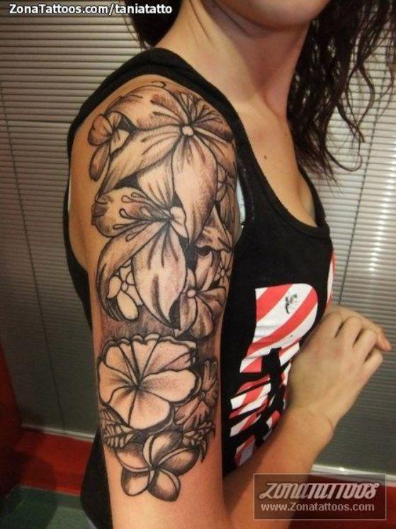 tatuaje todo el brazo