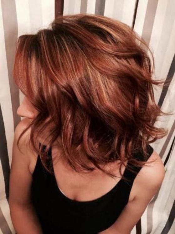 tono para cabello rojo