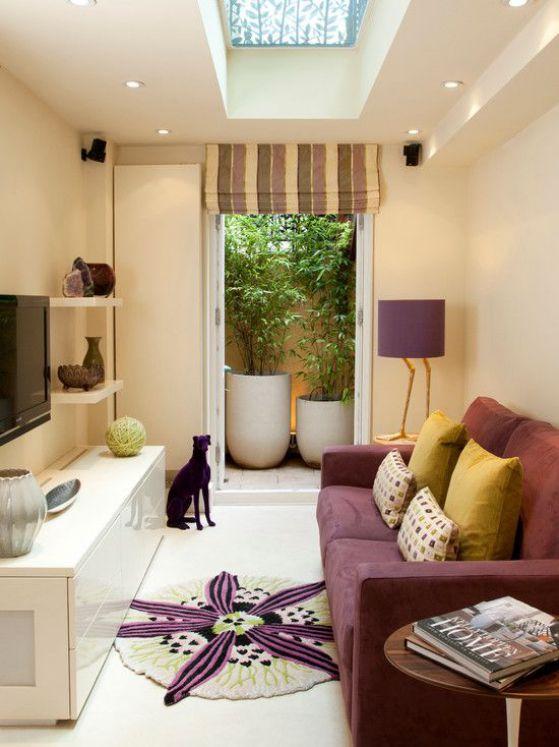 decoracion dentro de casa con plantas
