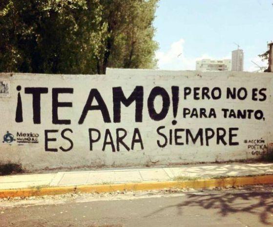 imagenes con grafitis de amor