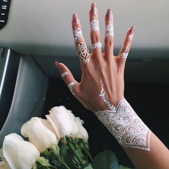 tatuaje henna matrimonio