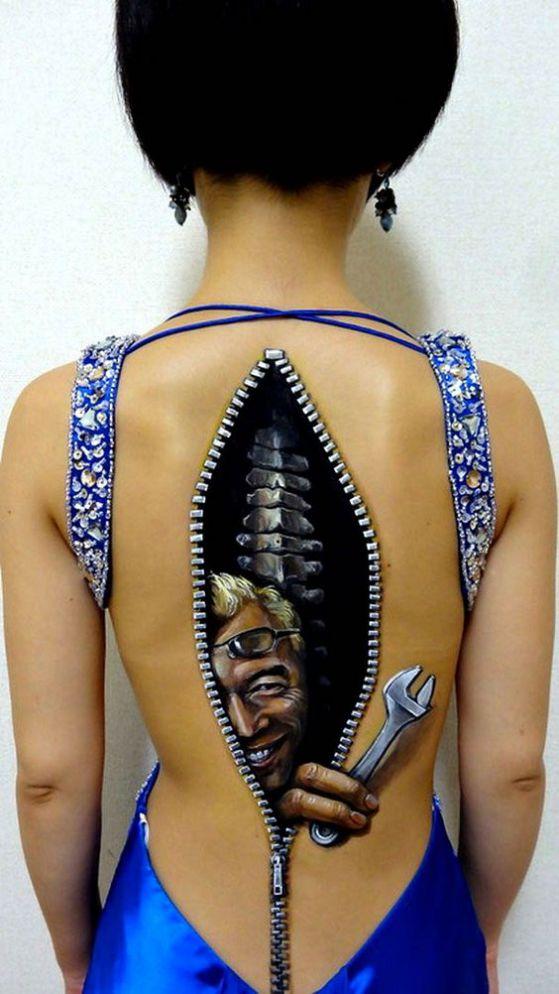 tatuajes de pintura