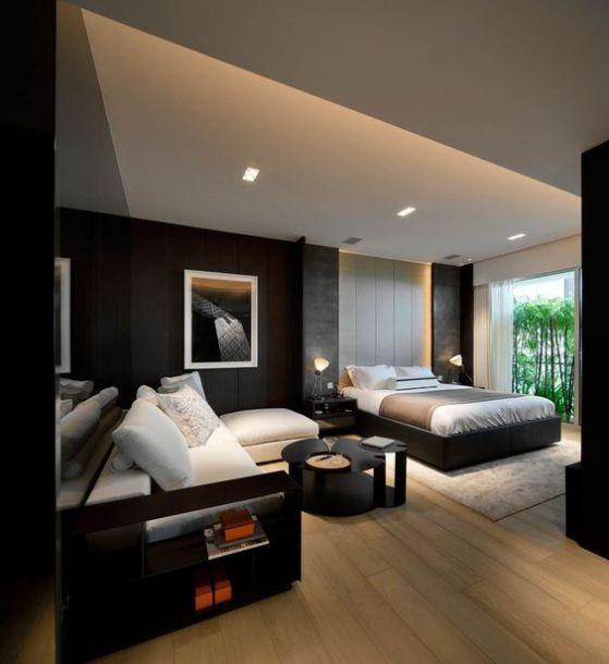 Dormitorios modernos ideas y dise os para habitaciones for Disenos de cuartos para hombre
