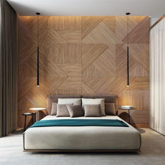 dormitorios modernos de colores opacos