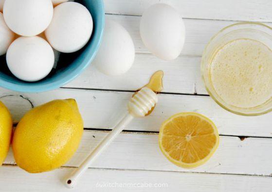 mascarilla miel y huevo