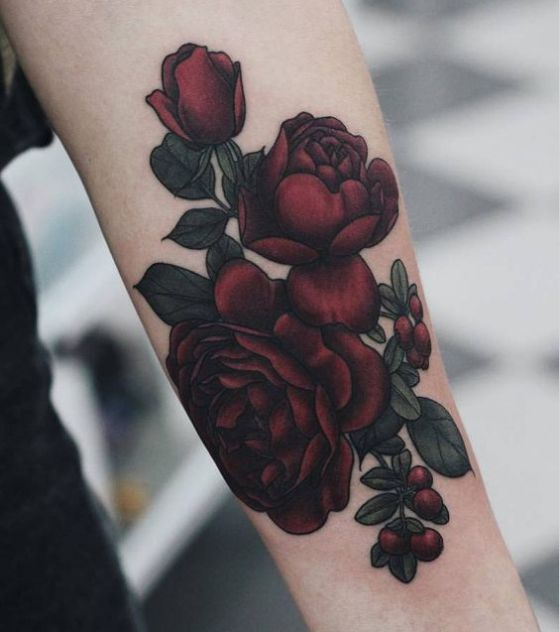 Image Result For Rosa Creciendo De Color Rosa Tatuajes